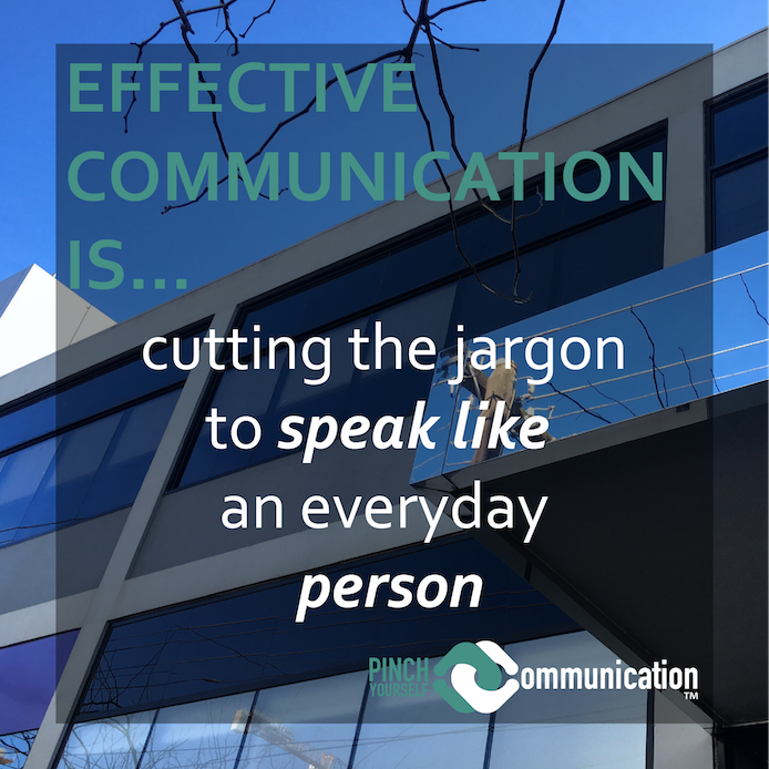 Cutting all jargon is essential to effective communication, or is it?