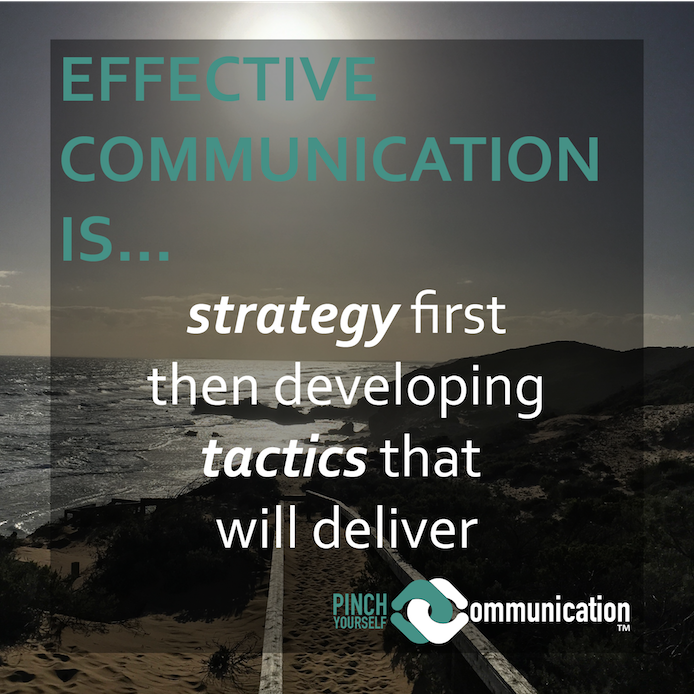 The good news about developing a business communication strategy