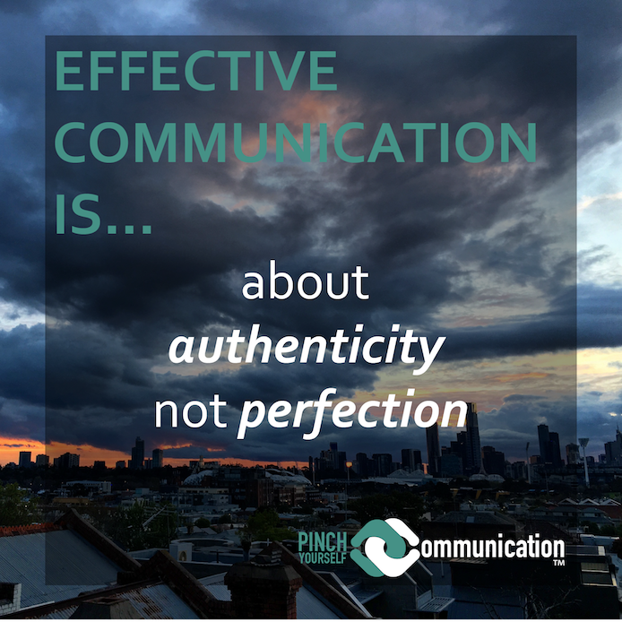 Why authentic communication is like learning to downhill ski