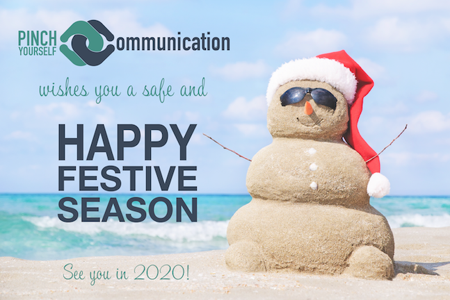 Have a safe and happy festive season